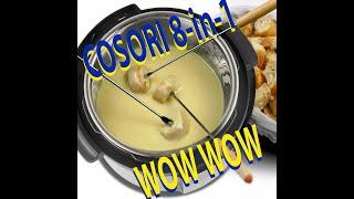 Pressure Cooker Cosori  8 quart  8 in 1   intro  