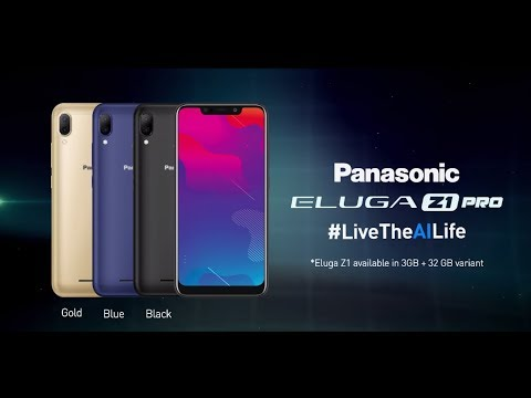 Presenting The All New Panasonic Z1 & Z1 Pro | #LiveTheAILife