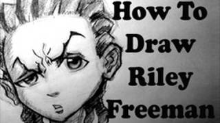 How To Draw Riley Freeman