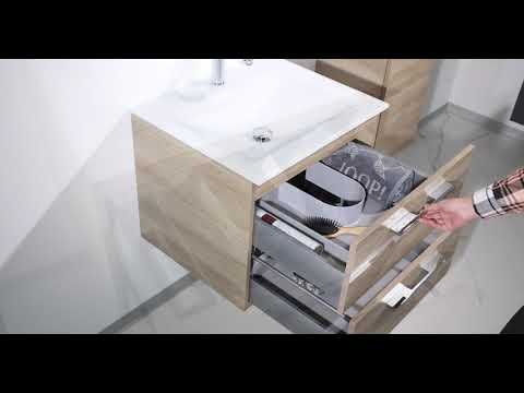 Intarbad - Designbader - Badmöbel  Saphir 60cm