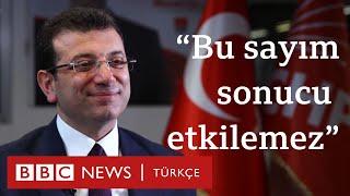 Ekrem İmamoğlu: Tek hedefim İstanbul'u yönetmek ve İstanbul'da çok başarılı olmak