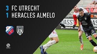 FC Utrecht - Heracles Almelo | 09-12-2018 | Samenvatting