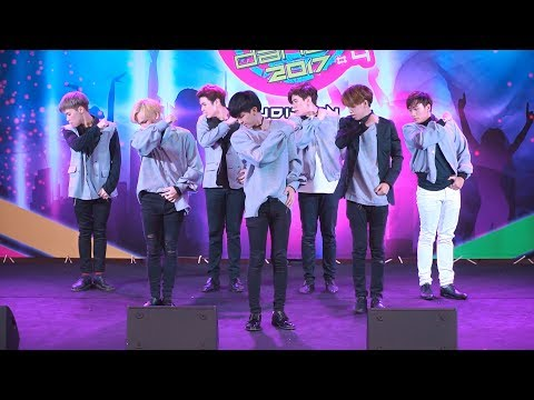 170527 GET7 cover GOT7 - Never Ever @ J&K Street Cover Dance 2017 (Au)