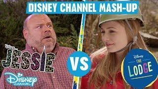 Disney Channel Mashup   The Lodge VS Jessie   Official Disney Channel UK