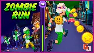Побег зомби - Zombie Escape Run ● Android ● Gameplay HD