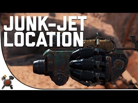 Fallout 4 Gameplay Walkthrough - Part 5: ROCK-IT LAUNCHER/JUNK JET LOCATION! (w/ Giveaway)