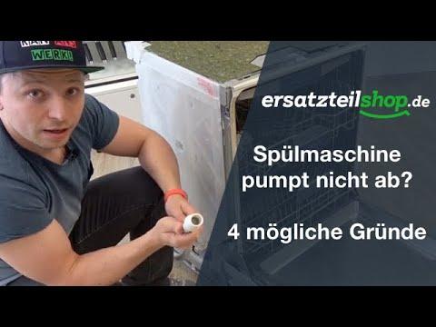 Top Spülmaschine pumpt nicht ab - Fehleranalyse! - YouTube CJ48