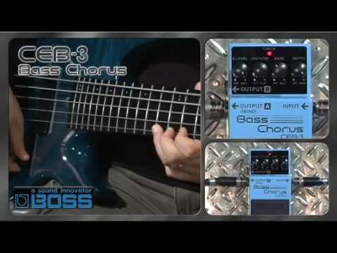 CEB-3 Bass Chorus [BOSS Sound Check]