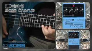 CEB-3 Bass Chorus [BOSS Sound Check]