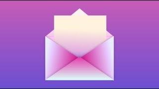 ❤️Design a love letter. Gravit Designer for beginners