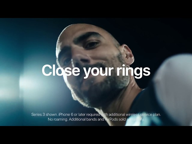 Apple Watch – Close Your Rings  Atilla – Apple