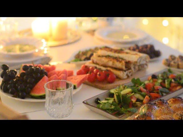 ترتيب مائدة رمضان أكل خفيف وبسيط سفرة سريعة Youtube