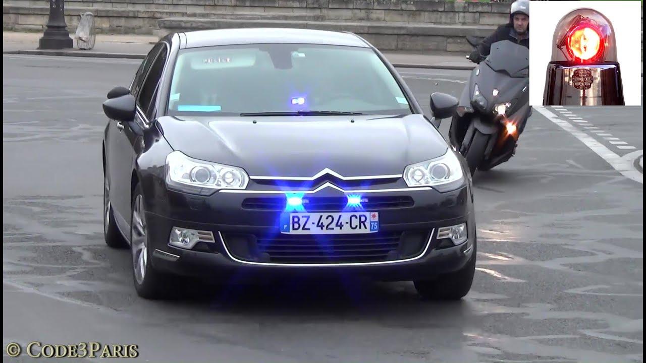Unmarked Police Cars Paris (compilation) // Voitures de police banalisées