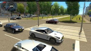 City Car Driving Nissan GT-R 2012 HD
