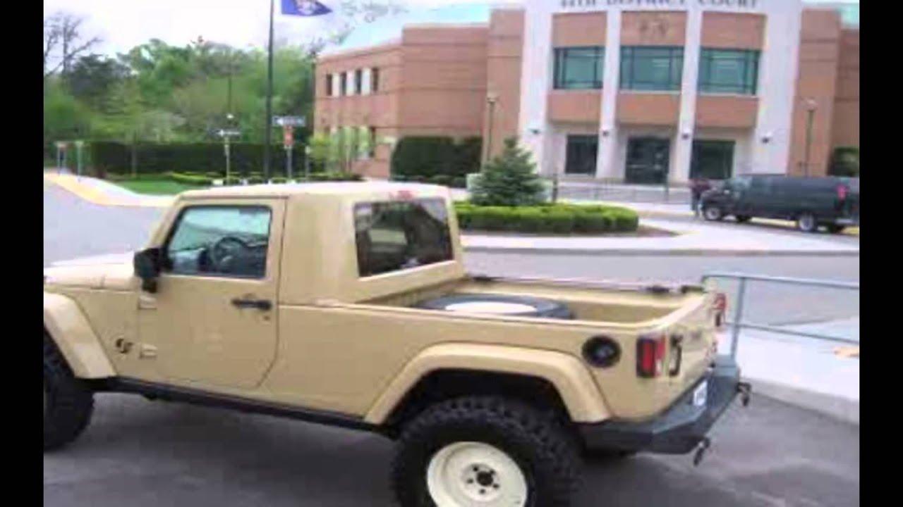 Modifikasi Mobil Sport Terbaru ''Jeep Wrangler Versi Pikap