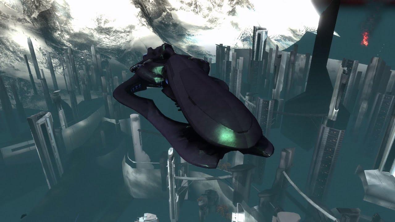 Trick Halo: Reach - Monter sur une Corvette d'Exode en Warthog Jump !