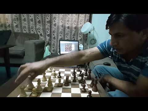 Chess game on DGT
