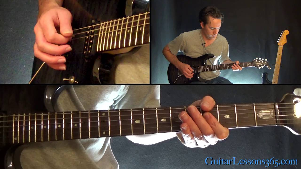 Shot In The Dark Guitar Lesson Chords Rhythms Ozzy Osbourne Youtube