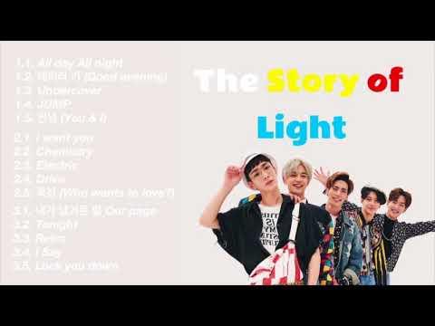 [FULL ALBUM] SHINee (샤이니) – 'The Story Of Light' ALL EP.