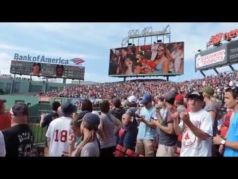"""Boston Red Sox 8th-inning Break """"Sweet Caroline"""" (July.20, 2014 @Fenway Park)"""