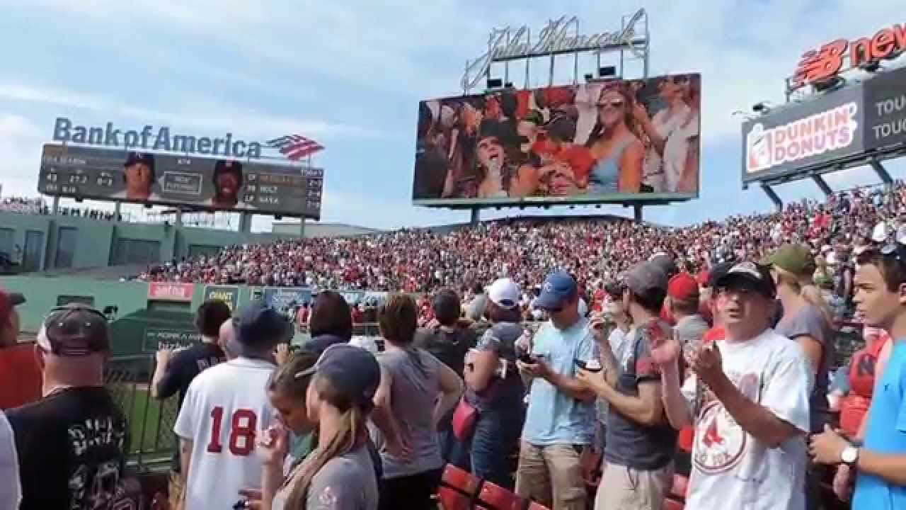 Sweet Caroline and Fenway Park - Boston Red Sox