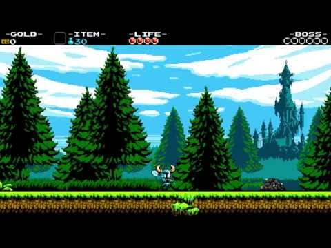 Shovel Knight - First playthrough part 1 - Intro to beginning of King Knight's stage