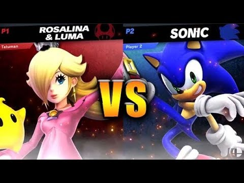 Rosalina vs Sonic