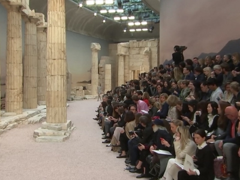 Cruise Collections: Chanel brings Greece to Paris