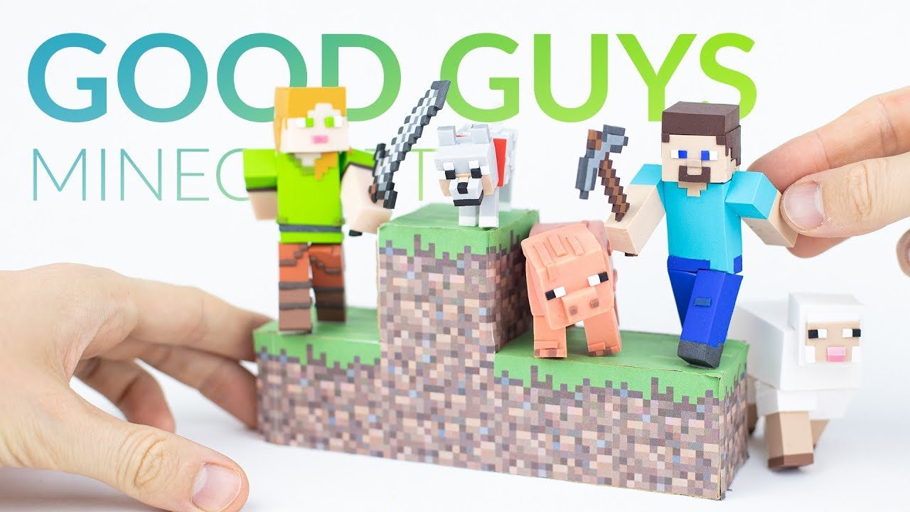 Download Making MINECRAFT's Good Guys with Polymer Clay