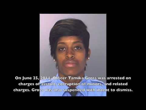 Philadelphia Cop Arrested - Tamika Gross