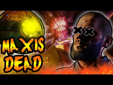 MAXIS KILLED HIMSELF! SOPHIA & DR MAXIS DEAD! Black Ops 3 Zombies REVELATIONS Easter Egg Cipher
