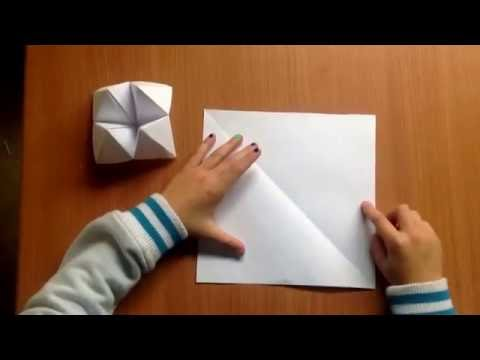 Origami Chatterbox - Step by Step Guide