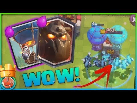 ALLEEN AIR TROOPS 1V1 CHALLENGE!! - Clash Royale