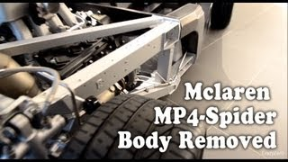 Mclaren MP4-Spider Body Removed Carbon MonoCell Chassis