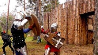 Рыцари (2013) фильм про битвы гопников и толкиенистов Full HD