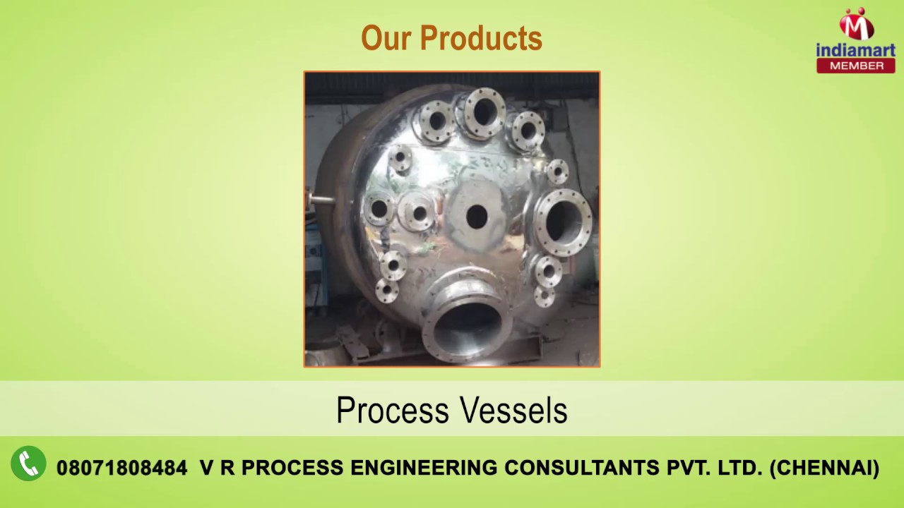 Industrial PLants & Services by V R Process Engineering Consultants Pvt   Ltd , Chennai