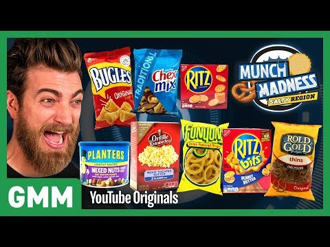Munch Madness Taste Test: Salty Snacks