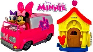 MINNIE MOUSE STORY - FIGARO GOES MISSING AND DAISY & MINNIE LOOK FOR IT WITH THE HAPPY HELPER VAN