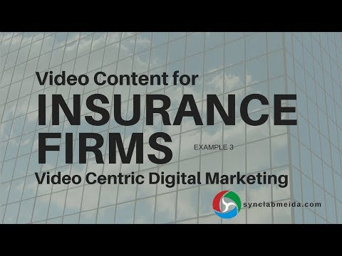 Video Content for Insurance Firms - Agent Recruiting