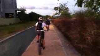 Biking at Nuvali, Sta. Rosa, Laguna