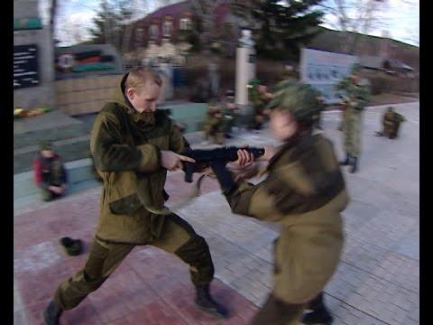 """Военный клуб «Десантник» посещают дети Киренска, """"Вести-Иркутск"""""""