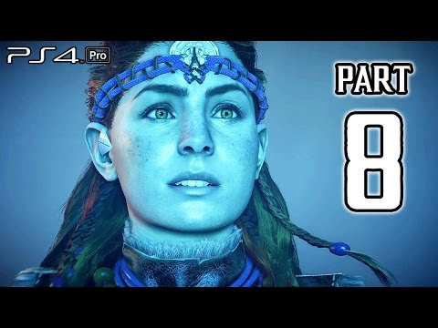 Horizon Zero Dawn Walkthrough PART 8 (PS4 Pro) No Commentary Gameplay @ 1080p HD ✔
