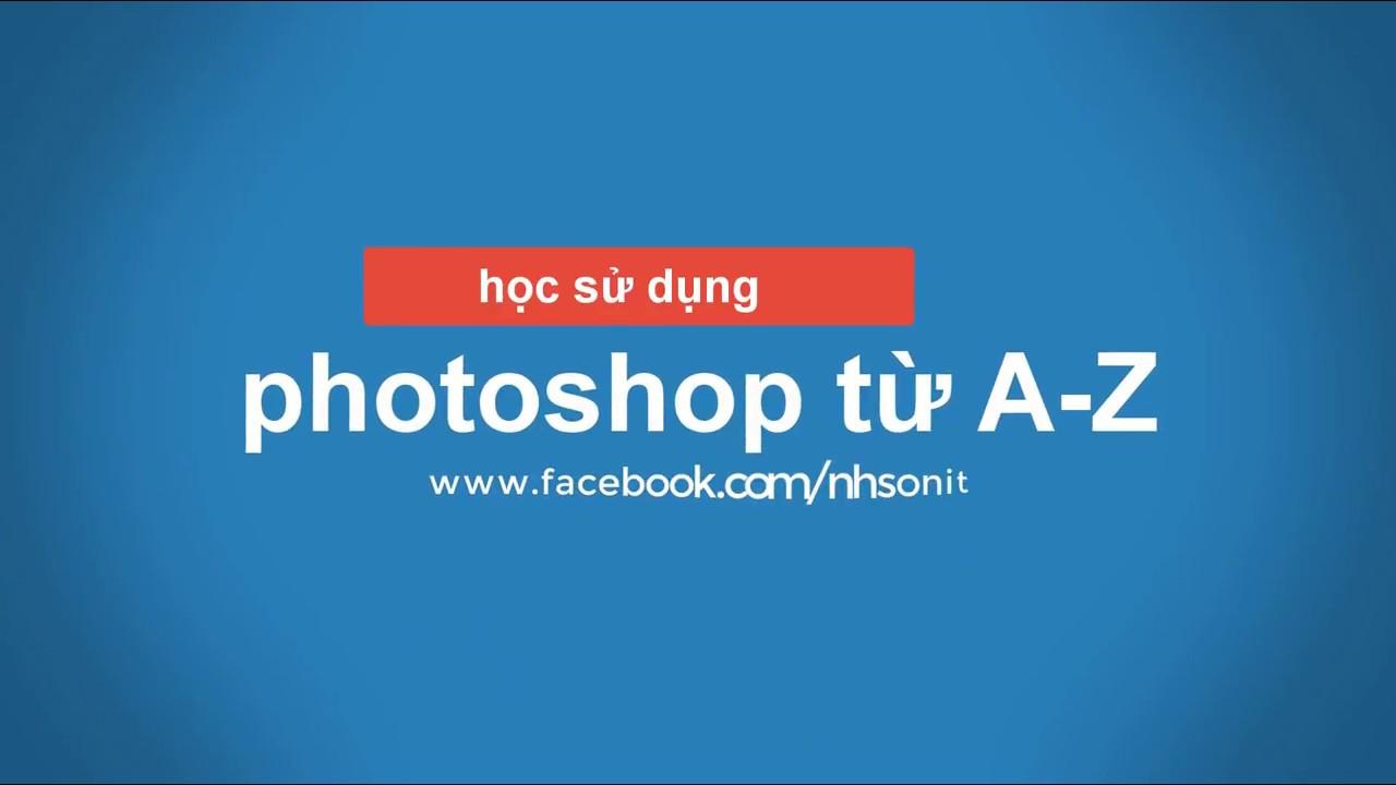 Học sử dụng photoshop từ A-Z | Liên kết các layer và gộp các layer | học photoshop #17
