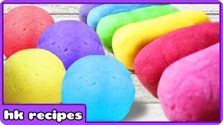 4 Ways to Make Your Own Playdough | DIY Edible Playdoh Recipes by HooplaKidz Recipes
