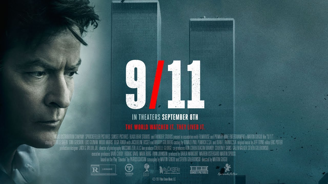 9/11 Movie Trailer - in Theaters Sept. 8th - Starring Charlie Sheen & Whoopi Goldberg