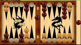 Играем в короткие нарды (урок 1)