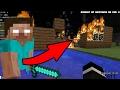 HEROBRINE BURNED MY HOUSE (Minecraft Herobrine Documentary)