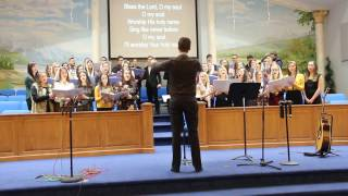 10,000 Reasons sang by Calvary Youth Choir