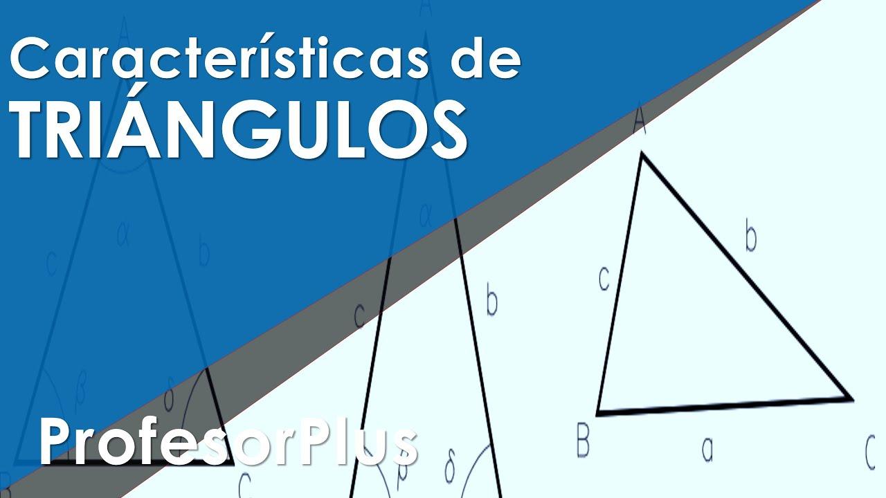 Los tipos de triangulos - Equilatero, isósceles y escaleno - YouTube