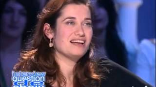 Interview question de choix Emmanuelle Devos - Archive INA